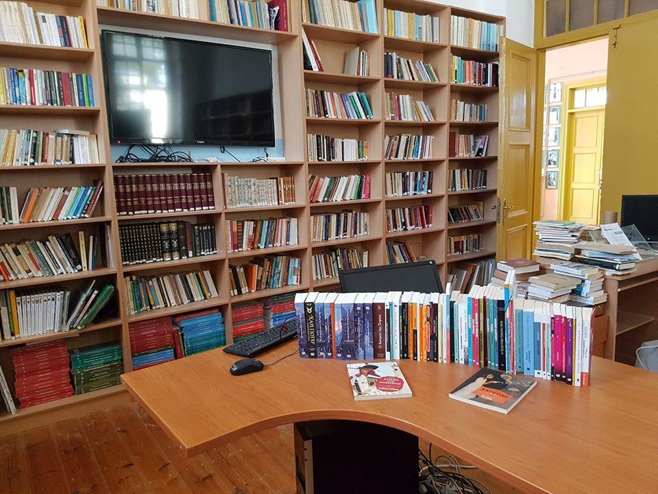 Βιβλιοθήκη Νικηφορείου Γυμνασίου Καλύμνου